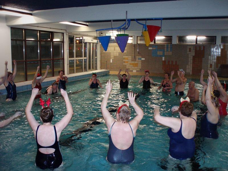 Aqua Fitness Vatnsleikfimi hjá Syndaselur.com