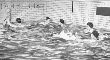 """Courtesy of """"Spaulding's Athletic Library."""" WATER POLO"""