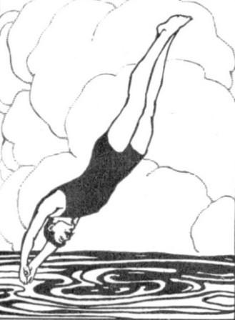 (diving)